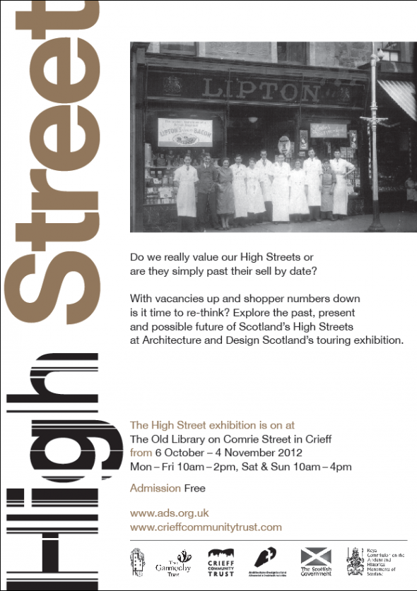 'High Street' exhibition coming to Crieff