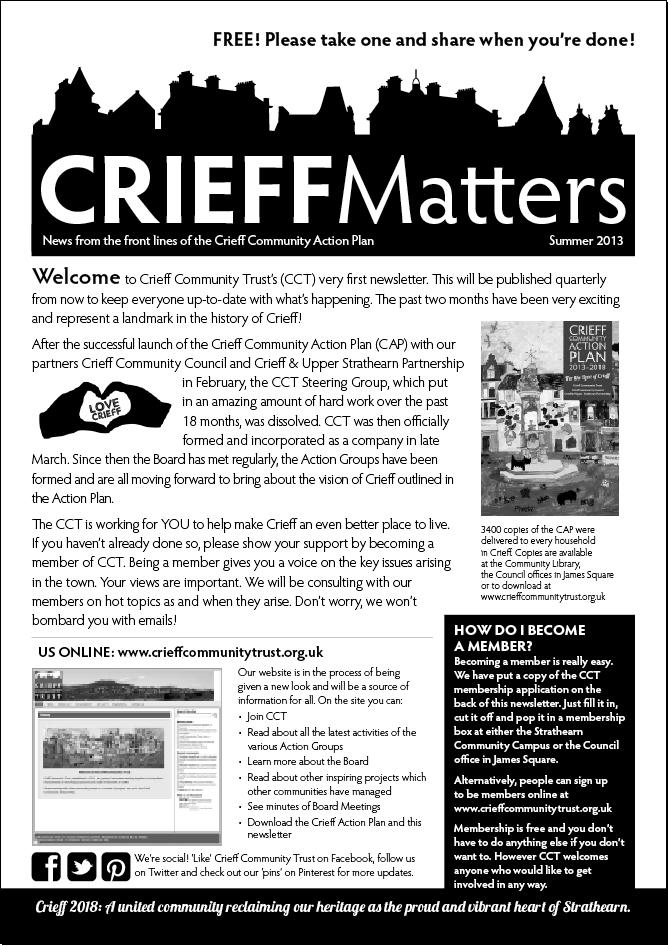 Crieff Matters Summer 2013