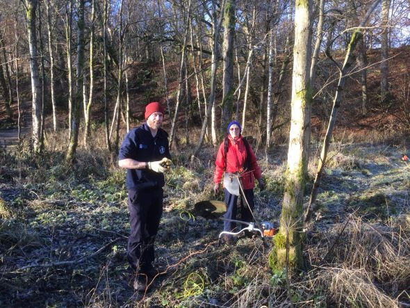 Crieff Paths Group's latest tasks