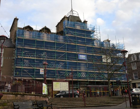 New Year update on regeneration of the Drummond Arms