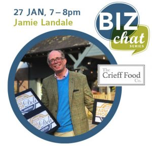 Biz Chat with Jamie Landale of The Crieff Food Co